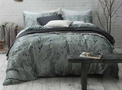 Seed 300 Thread Ct Queen Duvet Cover Set