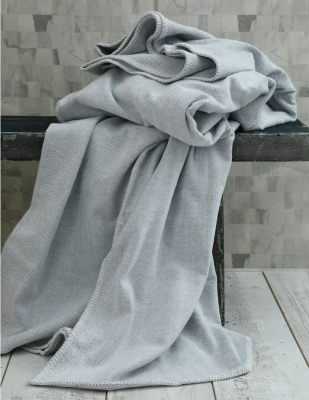 Brooklyn Blanket 100% Cotton Woven 400Gsm 240X260