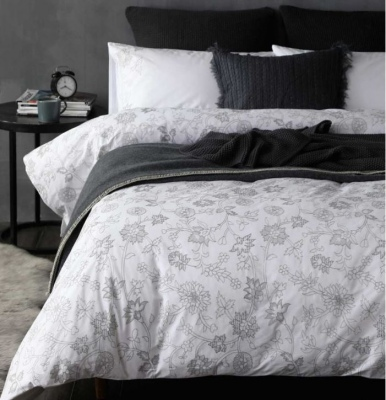 Sylvie 250 Thread Count Cotton King Duvet