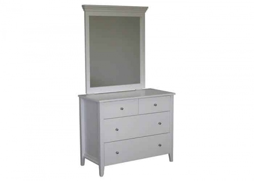 Adventure 4Dr Dresser W/Mirror White 935X450X1700