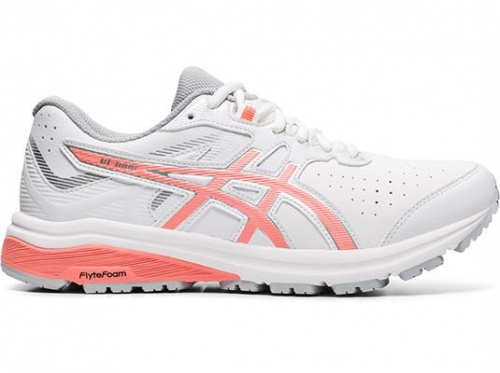 Asics Gt-1000Le D Leather White Guava Womens Cross