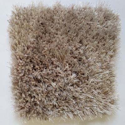 Aberdean Simply Taupe Soft Shaggy Rug 1.9X2.9M
