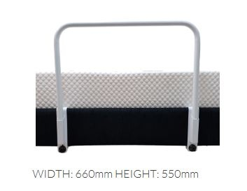 Low Side Rail For Adjustable Bed