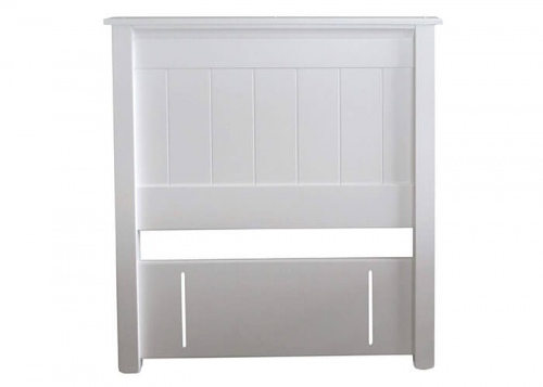 Adventure Double Headboard White 1500X1070H