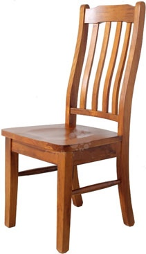 Paihia Timber Seat Dining Chair