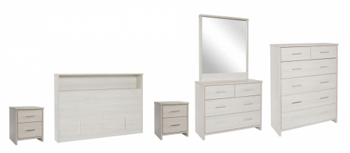 Atlas 5Pc Bedroom Suite With King Headboard Nz Mad