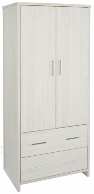 Atlas 2Draw 2Door Wardrobe Blonde 800X523X1800H