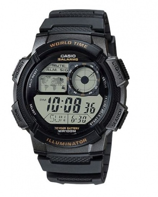 Casio Standard Black Digital Watch