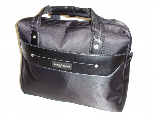 Down Under Laptop Bag Padded Black 39X30X13Cm