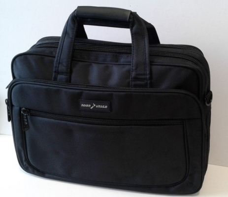 Down Under Laptop Bag Large Padded Black 41X31X13