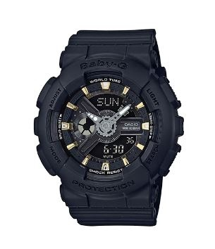 Baby-G Navy Gold Digital & Analogue Watch