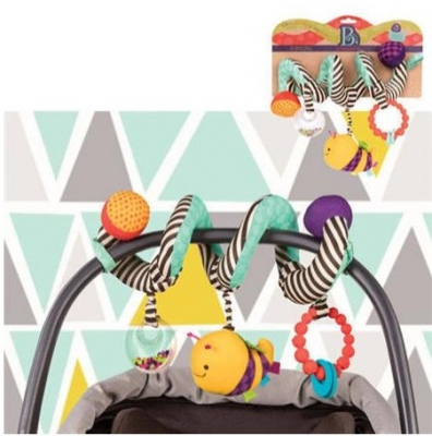 B. Wiggle Wrap Stroller Wrapping Toy