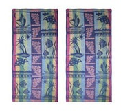 Holiday Terry Beach Towel 75X150 Set Of 2