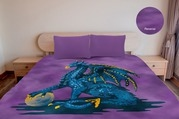 Marlborough Magic Dragon Mink Blanket 200X240Cm