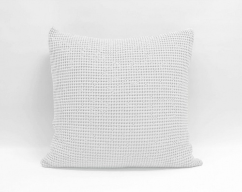 Baksana Bliss Stonewashed Euro Pillowcase White