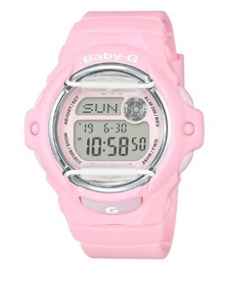 Baby-G Baby Pink Digital Watch