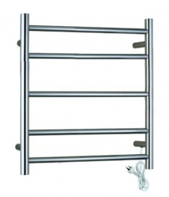 Heated Towel Rail 5 Bar Round Universal #304 Grade
