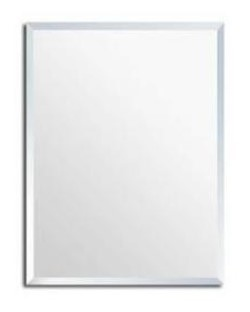 Frameless Bevelled Mirror 1200X800Mm