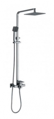 Allure Shower Set 2 Function 700Mm Chrome