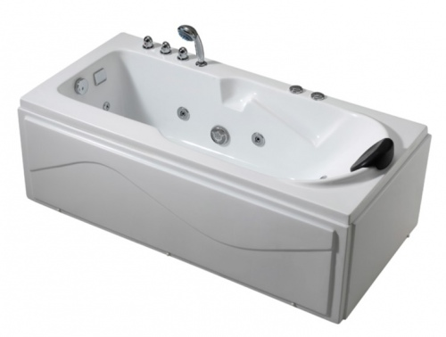 Vivace Free Standing Spa Bath 1700X750X525Mm Left