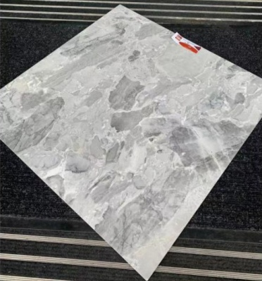 Glamour Grey Glossy Tile 600X600Mm X 4 1.44Sq