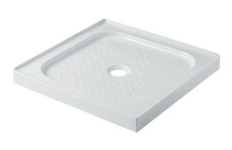 Shower Square Tray 800X800Mm Center Waste Position