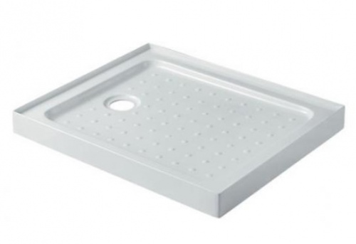 Shower Rectangle Tray 1000X800Mm Corner Waste Posi
