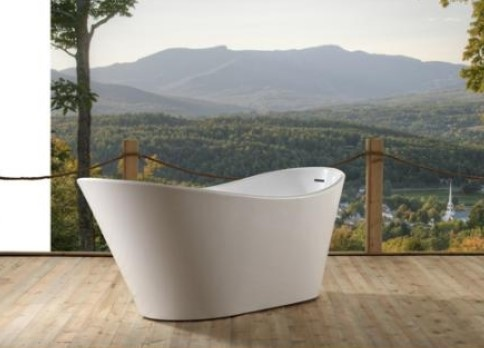 Muretto 1800 Freestanding Bath Tub Wht 1800X800X72