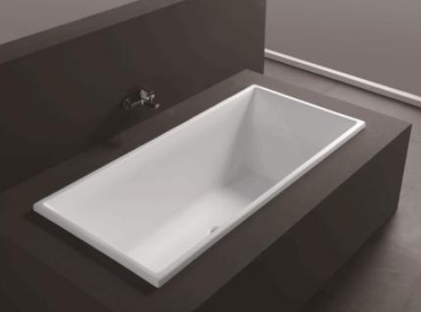 Renata 1600 Drop-In Bath Tub 1600X800X500Mm