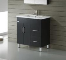 Nova Fs 750 Single Black Vanity 755X460X850Mm