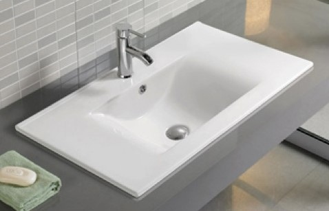Elegante Basin For 900Mm Vanities 900X460Mm