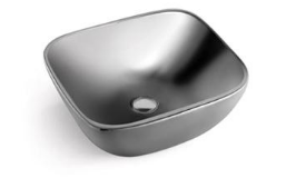 Ambra Basin Steel Ceramic 460X410X175