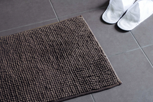 Cloud 9 Bobble Chenille Bathmat Mocha 50X80Cm