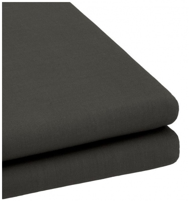 Bambury Trufit Fitted Sheet Charcoal Double