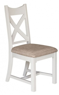 Beachside Dining Chair With Fabric Seat