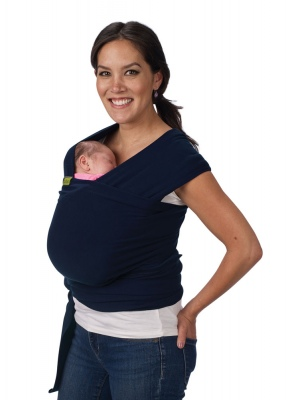 Boba Wrap Navy Stretchy Baby Carrier