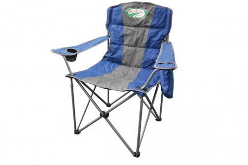 Breakaway All Day Camping Chair Navy & Grey
