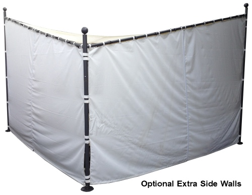 Butterfly Gazebo Single Side Wall With Zip