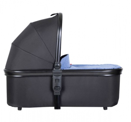 Phil & Teds Carrycot With Black Lid