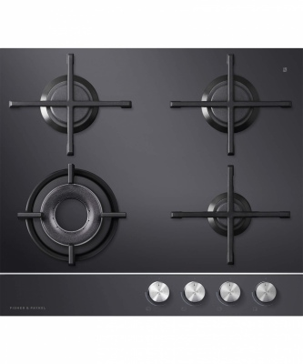F&P Gas On Glass Cooktop 4 Burner Lpg