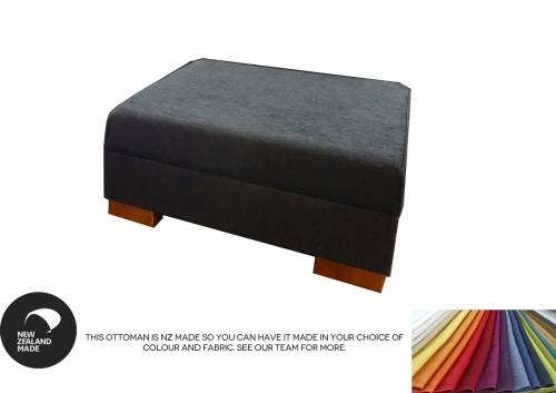 Chateau Storage Ottoman A Grade Fabric 950X950Mm