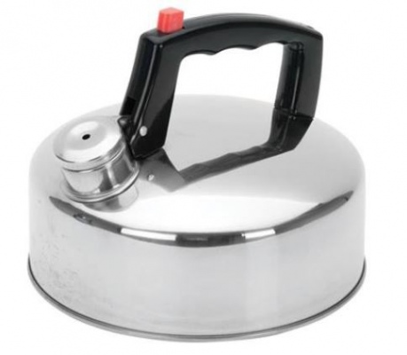 Campmaster S/Steel 2Lt Whistling Kettle