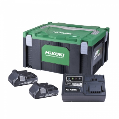 Hikoki 18V 3.0Ah Lithium Adv Battery + Charger Ki