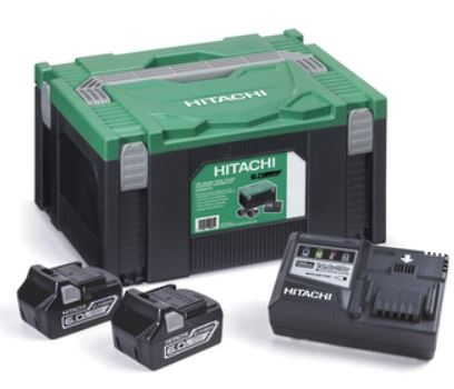 Hikoki 18V 6.0Ah Lithium Adv Battery + Charger Ki