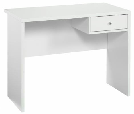 Cosmo 1DR Desk White 1000X500X750H