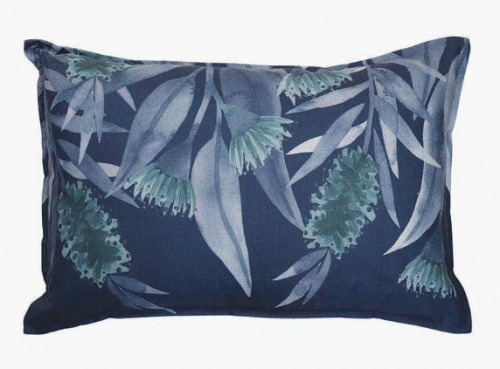 Bottlebrush Blue Cushion 40Cm