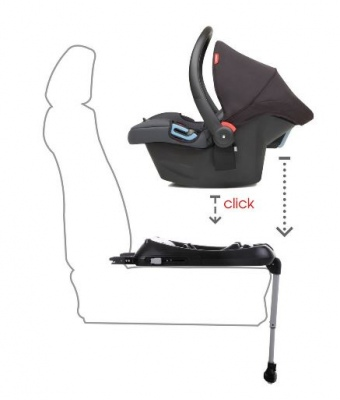 Phil & Teds Isofix Base For Alpha And Protect