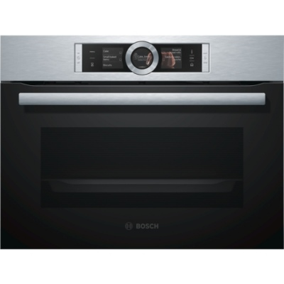 Bosch Compact Steam Oven Stainless 595X548X455H