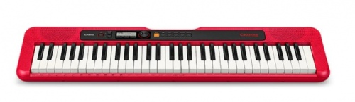 Casio Tone Keyboard 61 Full Size Red Portable