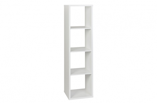 Cubo Bookcase Assembled White W426Xd396Xh1595